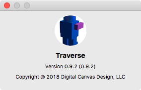 Traverse about, version 0.9.2